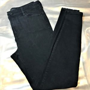 Liverpool Black Rinse Skinny Jeans